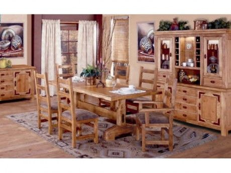 Mountain Lodge Dining Bring A Rustic, Mountain Lodge Dining Room Furniture