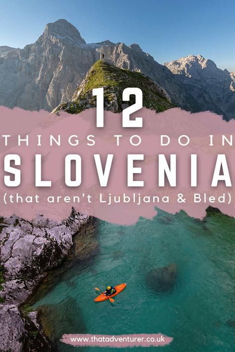 Planning to travel to Slovenia? Get the top things to do in Slovenia Europe for your trip to Slovenia, Ljubljana. These Slovenia travel ideas are off the beaten path and don't include the ultimate tourist hot spots like Lake Bled! #sloveniatravel #europetravel