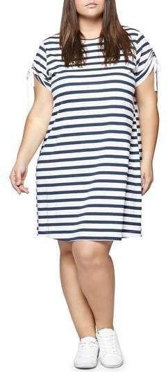 official supplier most reliable select for best Plus Size Stripe T-Shirt Dress   Plus Size Fashion   Plus ...