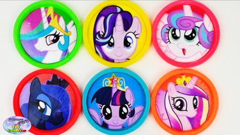 Learn Colors My Little Pony Princesses MLP Flurry Heart Cadance