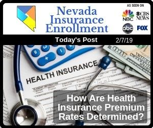 How Are Health Insurance Premium Rates Determined Health