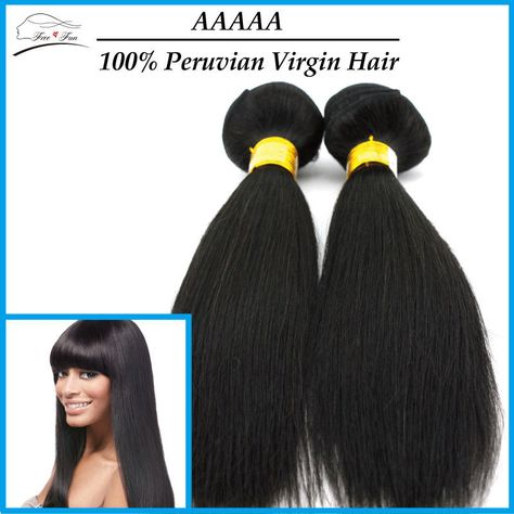 "Find More Hair Weaves Information about peruvian Virgin Hair Straight 2pcs 10"" 30""; peruvian Straight Hair Extension Human Hair Weaves Cheap peruvian Hair Extensions,High Quality Hair Weaves from Free&Fun  Hair Co.,Ltd on Aliexpress.com"
