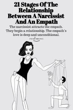 21 Stages Of The Relationship Between A Narcissist And An Empath