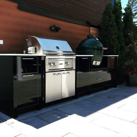 Drop In Grill and BBQ island ideas for the perfect outdoor cooking space