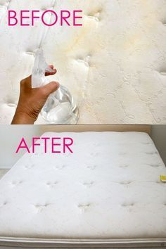 How to Clean Mattress Stains Minute Magic Green Cleaning!) How to Clean Mattress Stains Minute Magic Green Cleaning!),Cleaning hacks How to clean mattress stains naturally in 10 minutes! Deep Cleaning Tips, House Cleaning Tips, Green Cleaning, Cleaning Solutions, Spring Cleaning, Cleaning Hacks, Cleaning Products, Cleaning Checklist, Clean Mattress Stains