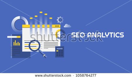 Search Engine Data Analytics Research Monitoring Flat Line