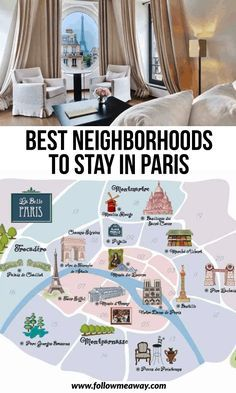Paris Neighborhood Guide | Best Areas To Stay In Paris | best neighborhoods in Paris | where to go in Paris | where to stay in Paris | best hotels in Paris | best accomodations in Paris | travel tips for Paris | travel accommodations in Paris | how to travel to Paris | traveling Paris like a pro