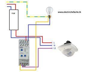 Installer Un Detecteur De Presence Avec Un Interrupteur Crepusculaire Projets Electriques