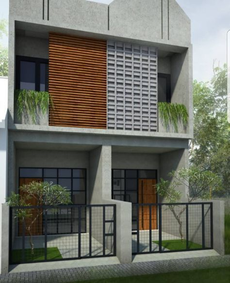 42 Ideas Exterior House Design Small Garage In 2020 House