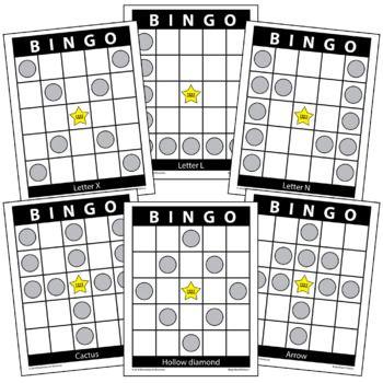 58 Bingo Board Pattern Examples For All Types Of Bingo Bingo