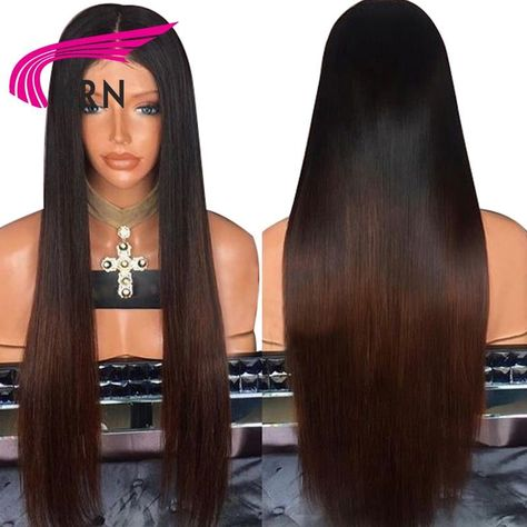 KRN Straight Glueless Lace Front Human Hair Wigs  #wigs #beauty #instafollow #hairproducts #hairpiece #instacool #instahair #hair #hairsalon #wigstylist