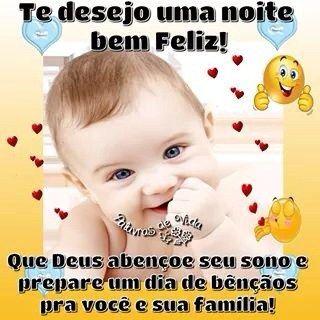 Boa Noite Imagem Com Bebês Lindos Sorrindo Mensagem De Boa