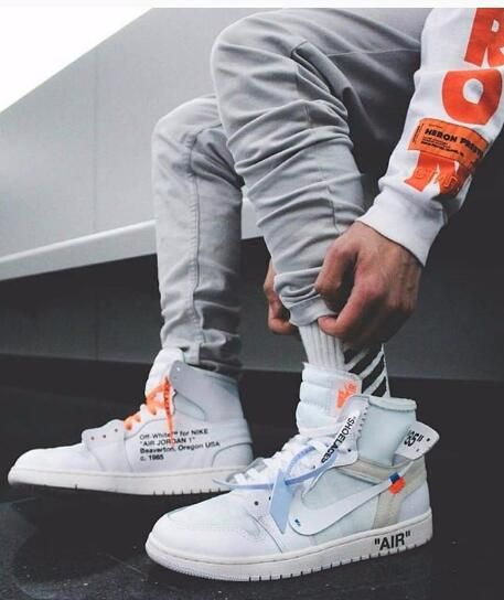 Air Jordan 1 X Off White Nrg High White Offwhite Airjoran1