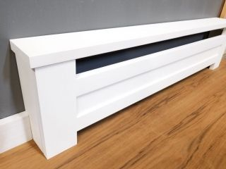 Baseboard Heater Covers Shipped To You Direct Diy Installation In 2020 Baseboard Heater Covers Heater Cover Baseboard Heater