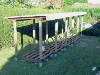 Holzunterstand Bauanleitung Zum Selber Bauen Mit Bildern Holzunterstand Holz