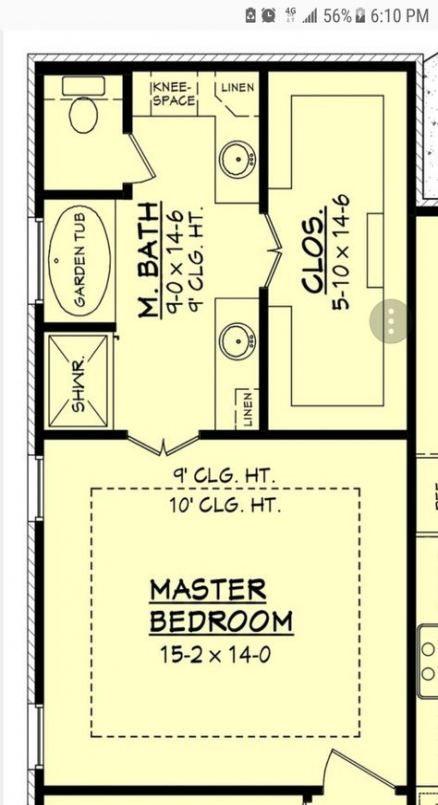 Farmhouse Bedroom Ideas Master Suite Closet 37 Ideas Master Bedroom Plans Master Bedroom Layout Master Suite Layout