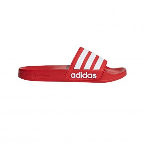 adidas Cloudfoam Adilette Shower slippers heren scarlet ...