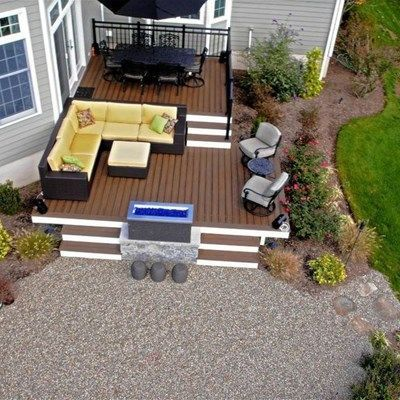 Tiered Split Level Multi Level Deck Ideas Pictures Decks Com 2019 Deck Ideas Deck Designs Backyard Outdoor Living Deck Patio Deck Designs
