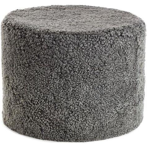 New Zealand Sheepskin Pouffe Short Wool Natures Collection 40 X New Sheepskin Pouf Bean Bag