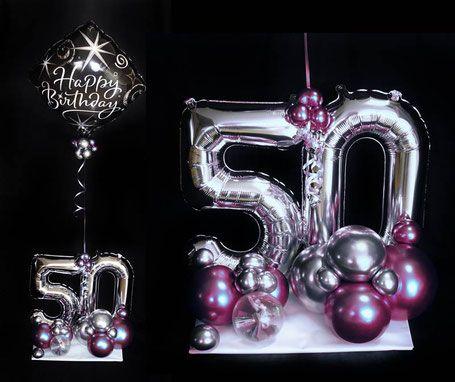 Luftballon Ballon Design Arrangement Heliumballon Geschenk Mann Frau Geburtstag Uberraschung Mitb Geburtstag Geschenke Frauen Geschenke 50 Geburtstag Geschenk