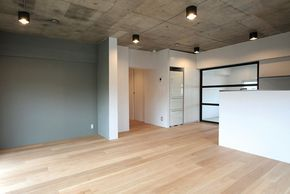 Aubrey: what do you think about an exposed concrete ceiling?