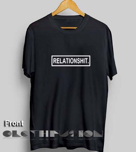 0e0b81096eedeb Unisex Premium Relationshit T shirt Design Clothfusion //Price: $13.50 //  #shortsleeve