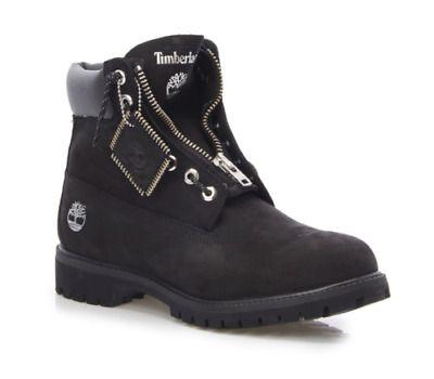 NWB Mens Timberland Waterproof Nubuck Front Zipper Work Boots TB0A1Q8E