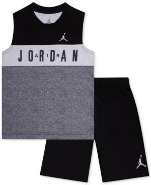 Baby Boy/'s Nike Jordan 2 Piece Shirt Shorts Set Outfit