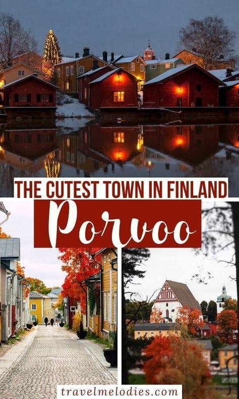 Porvoo – The Little Fairy tale Town in Finland
