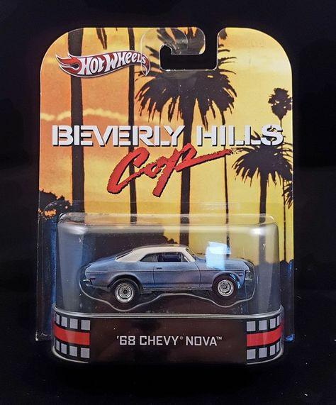 Hot Wheels Retro Entertainment Beverly Hills Cop 68 Chevy Nova