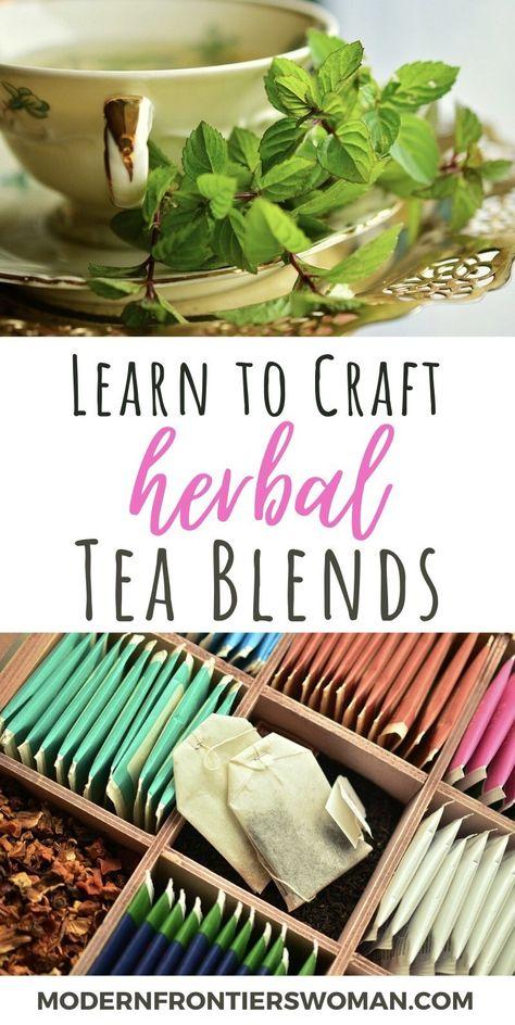 How to Grow a Medicinal Tea Garden (Plus over 40 Plants! Healing Herbs, Medicinal Herbs, Making Herbal Tea, Smoothie, Homemade Tea, Tea Benefits, Tea Blends, How To Make Tea, Herbal Remedies