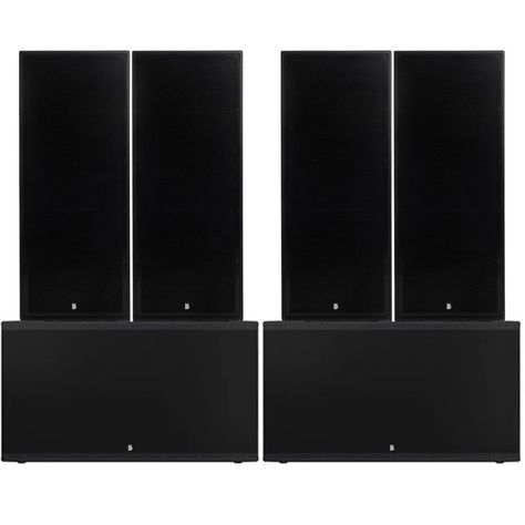 """Big Gig Rig 8 - Passive 10800w RMS Twin 15"""" Tops and Twin 21"""" Subwoofer PA System"""