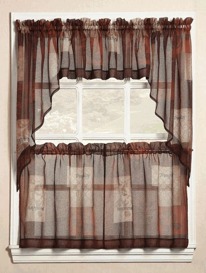 Beautiful Quality Fabric Kitchen Window, Kitchen And Bathroom Window Curtains