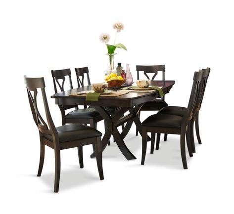 Midtown Dining Table With 4 By Thomas Cole Designs Hom Furniture