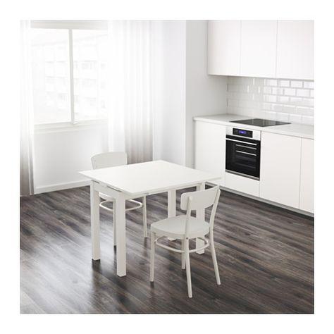 Tavolo Allungabile Bjursta Ikea.Bjursta Tavolo Allungabile Bianco Sala Ikea Ikea