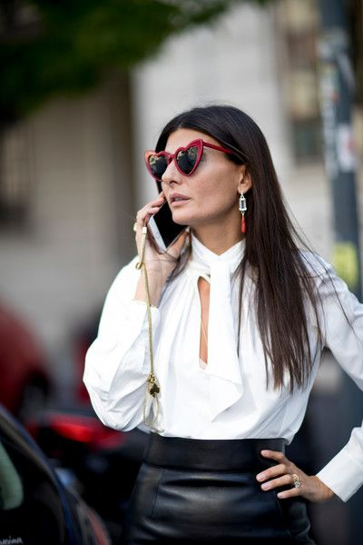 Seeing Hearts - Milan's Most Inspiring Street Style - Photos