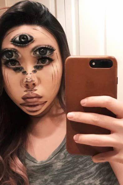 Mind Blown Face : blown, Makeup