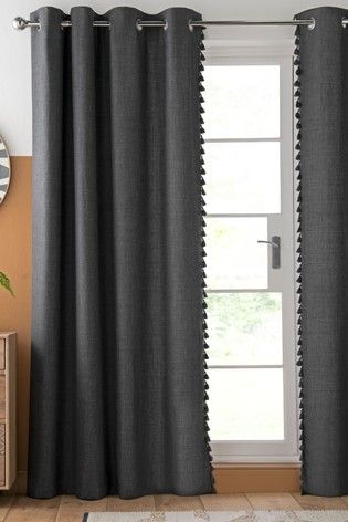 Tassel Edge Eyelet Lined Curtains Lined Curtains Curtains Buy Curtains