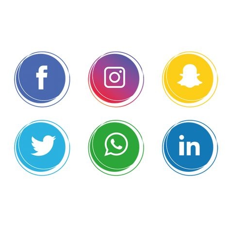 Social Media Icons Collection Social Media Clipart Social Icons Media Icons Png And Vector With Transparent Background For Free Download Social Media Icons Media Icon Instagram Logo