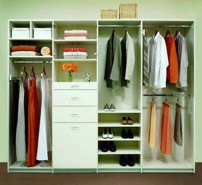 Moderno closets pequenos