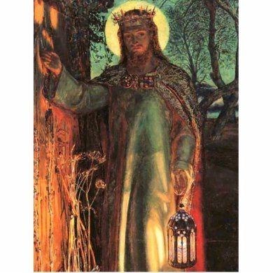 The Light Of The World Painting Postcard Zazzle Com Light Of