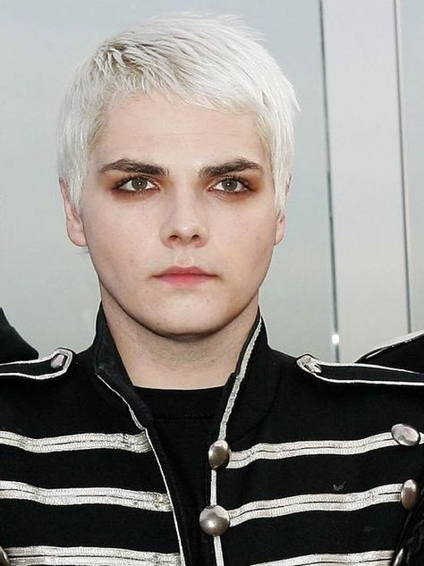 Gerard Way Was Never A Big Fan Of The White Hair But I Still