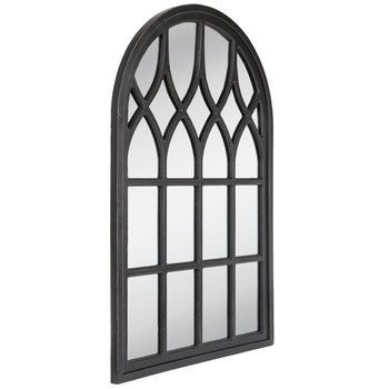Black Cathedral Arch Wood Wall Mirror Hobby Lobby 1664366 Cathedral Mirror French Country Decorating Wood Wall Mirror