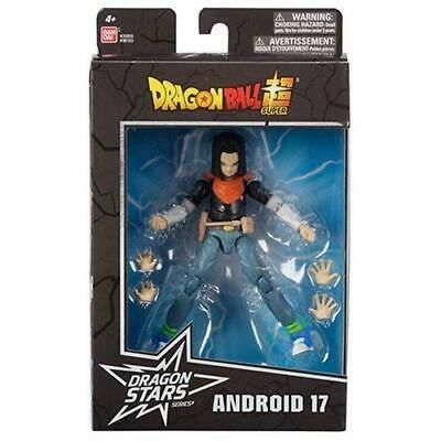 Dragon Ball Super Dragon Stars Series 10 Android 17 Action Figure Bandai 6.5 in