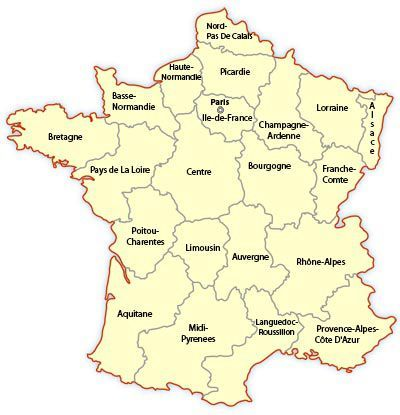 Explore The Regions Of France France Map Regions Of France Holidays France