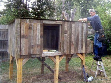 Chicken coop project - part 3
