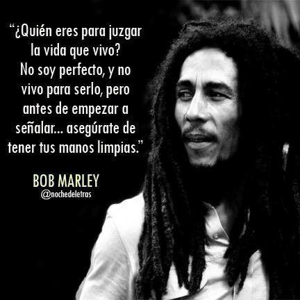 Bob Marley Quotes Enfermedades De La Vista Frases Inspiradoras