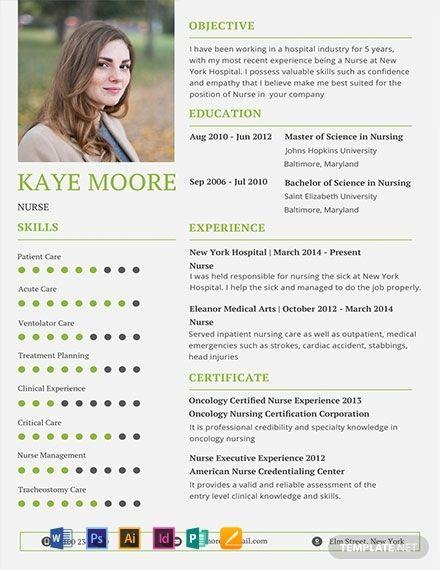 Free Nursing Resume Acting Nursing Resume Template Nursing
