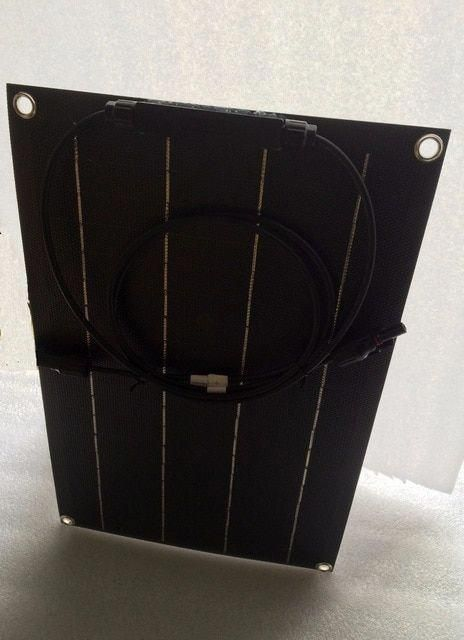 Total Black Solar Panel 20w Solar Cell Etfe Film Coating Semi Flexible Solar Panel Charger 12v Solar Battery Review In 2020 Solar Cell Solar Energy Panels Solar Panels