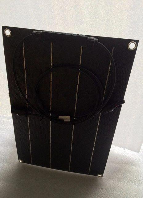 Total Black Solar Panel 20w Solar Cell Etfe Film Coating Semi Flexible Solar Panel Charger 12v Solar Battery Review In 2020 Solar Cell Solar Energy Panels Solar Panels